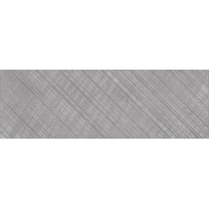 Apeks  Вставка  линии B серый (AS2U092DT) 25x75