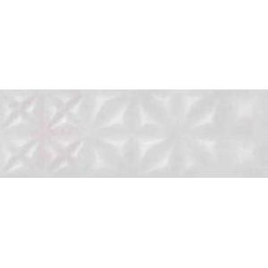 Apeks Плитка настенная рельеф светло-серый  (ASU522D) 25x75