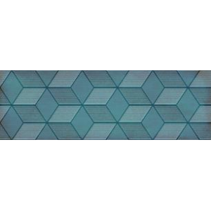 Парижанка Декор Гексагон бирюзовый 1664-0185 20х60