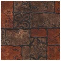 Керамогранит Бастион 4 коричневый 40x40 см