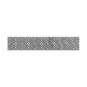 Бордюр Камелия чёрно-белый 01 108  СК000018272
