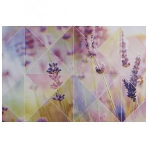 Плитка настенная Лаванда многоцветный верх 01 микс 741  СК000018317