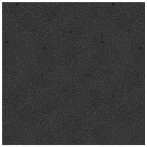 Плитка напольная Монро 5П черная 40х40