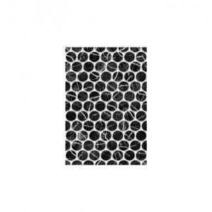 Плитка настенная Помпеи 1 тип 1 черный  27.5x40 см