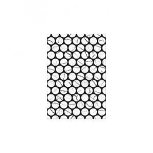 Плитка настенная Помпеи 7 тип 1 белый  27.5x40 см