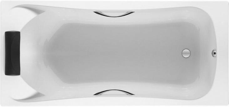 Ванна акриловая прямоугольная BeCool 180*80, глубина 50 см., Z.RU93.0.278.2  /ZRU9302782