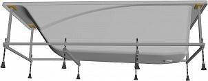 Монтаж. набор Roca Sureste 170х70 ручки, каркас, крепёж к фронт. пан. и стене, слив/пер., ZRU9302771