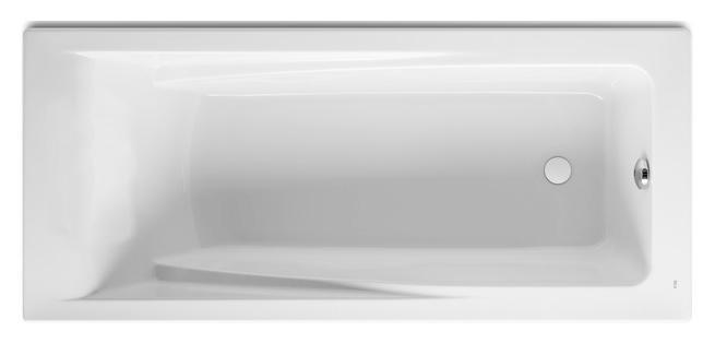 Ванна акриловая Roca Hall 170x75, глубина 42 см, ZRU9302768