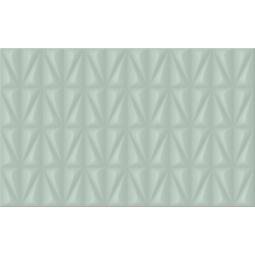 Плитка настенная Конфетти зеленый низ 02 25х40