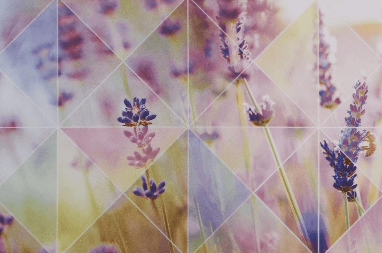 Керамическая плитка Лаванда / Романтика от завода Unitile (Шахтинская плитка)