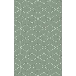 Плитка настенная Веста зеленый низ 02 25х40