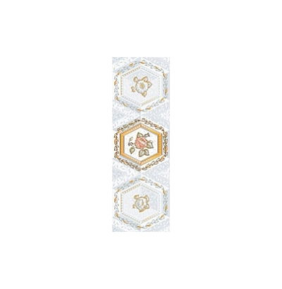 Декор Меланитовый фон серый (04-01-1-17-03-06-987-0) 340  СК000019978