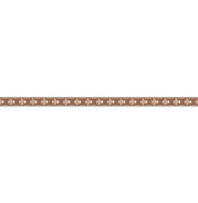 Бордюр бежевый разрезной люстр 1,3х25 (72шт.) 80  СК000012276
