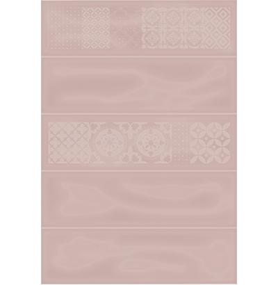 Плитка настенная Метро 3Д бежевый декор  729  СК000028538