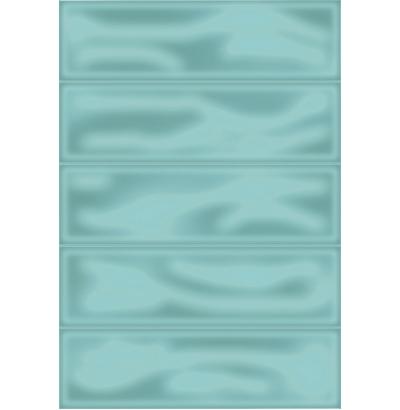 Плитка настенная Метро 4Т зеленый 729  СК000028535