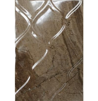 Плитка настенная Мокка 3Т коричневый  27.5x40 см