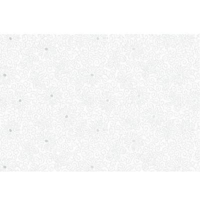 Плитка настенная Монро 7 белая 27.5x40 см