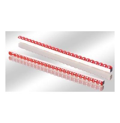 Бусинки красные люстр 0,7х25 (117 шт) 80  СК000003968